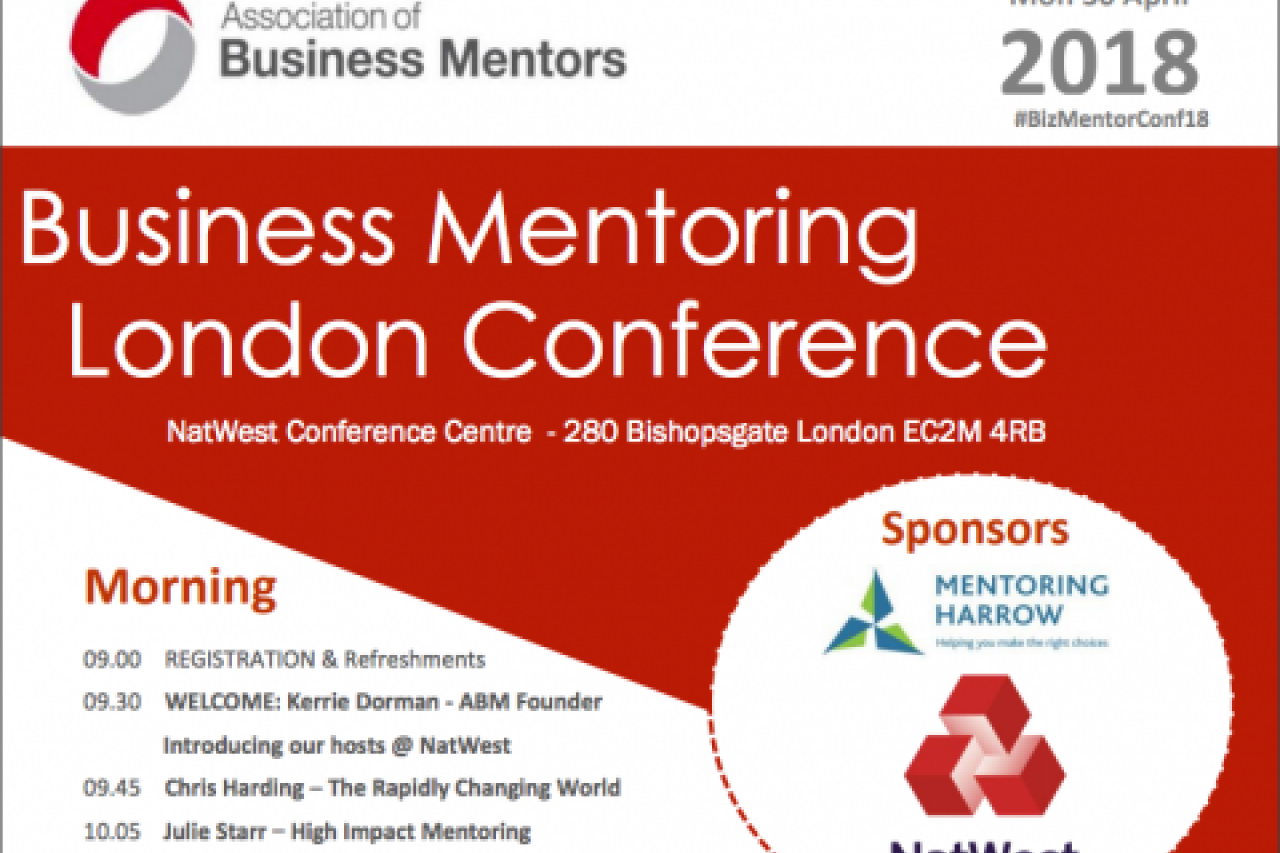Association of Business Mentors 2018 Conference