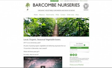 Barcombe Nurseries Website Design