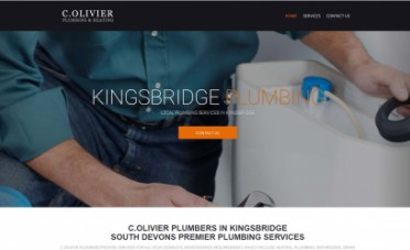 C.Olivier Website Design