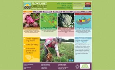 Plowright Website Screenshot