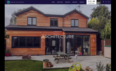 D4P Architects Website Home Page