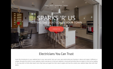 Website Builders for Electricians