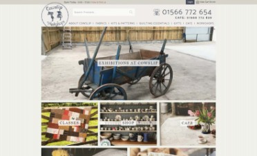 Cowslip Workshops Web Design