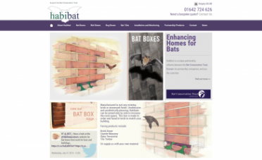 Habibat Website Design