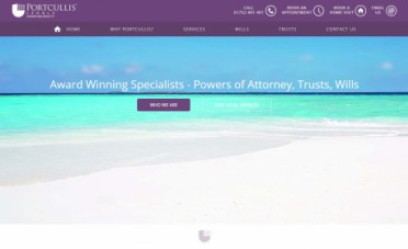 Solicitor Website Design