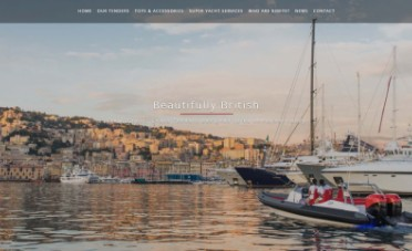 Ribeye Boats Website Design