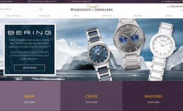 Wilkinson Jewellers Website Design