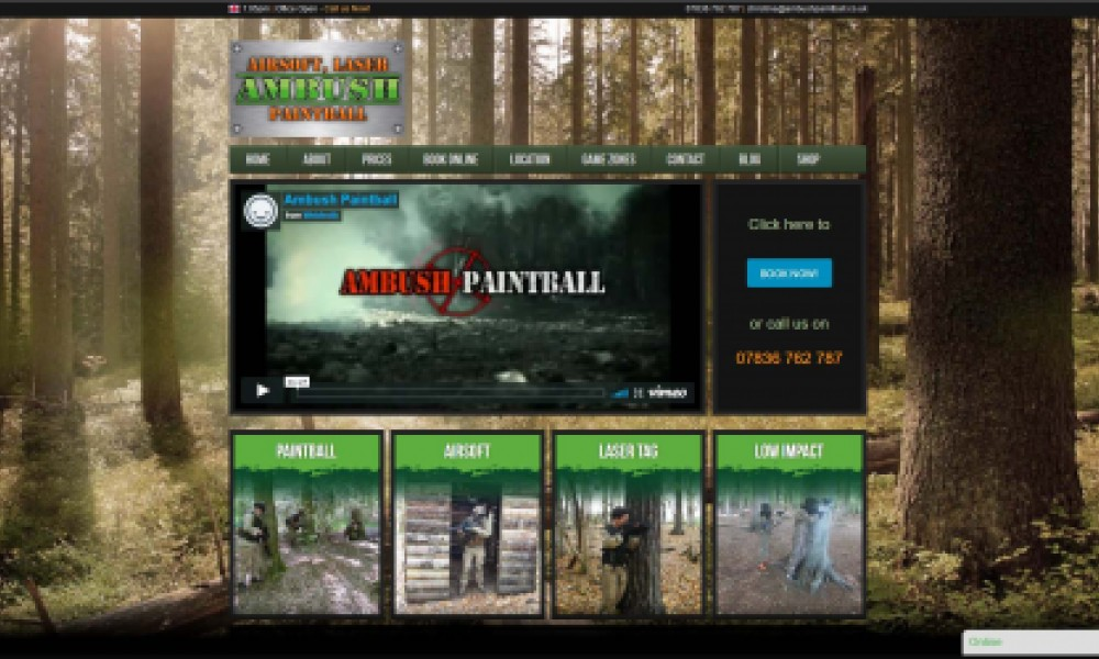 Ambush Paintball Screenshot