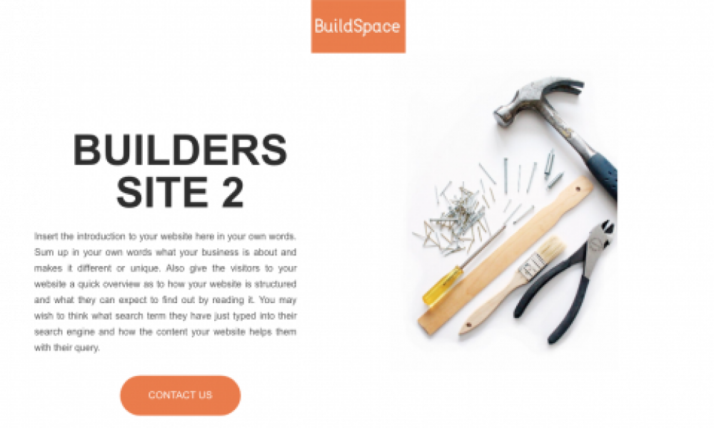Website Builders for the Construction Industry