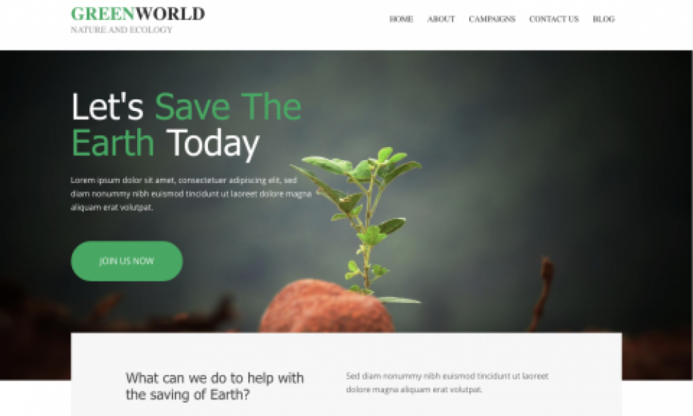 Website Builders for Green Businesses