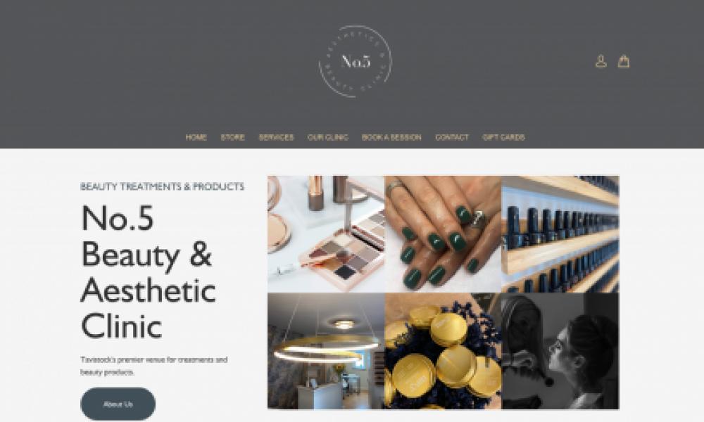 No 5 Beauty & Aesthetics Clinic Tavistock