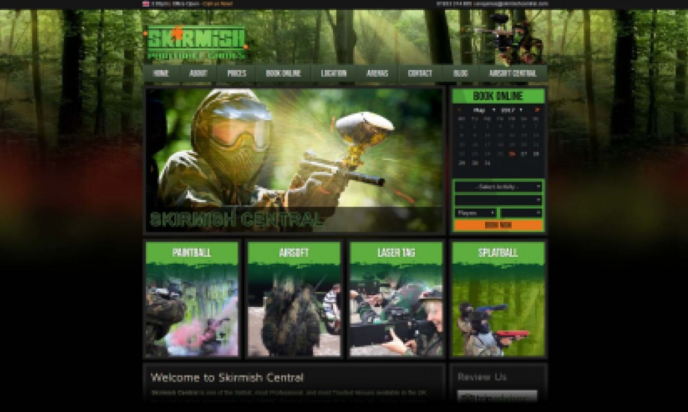 Skirmish Paintball Screenshot