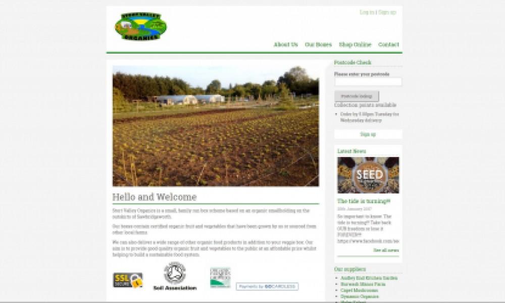 Stort Valley Organic Screenshot
