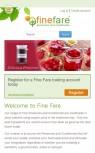 Fine Fare Mobile Screenshot