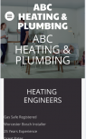 Website Builders for Heating & Plumbing Engineers