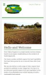 Stort Valley Organics Mobile Screenshot