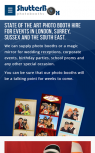 Photobooth Website Design